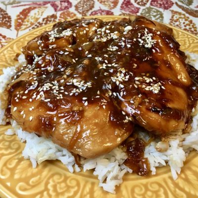 Instant Pot Chicken Teriyaki
