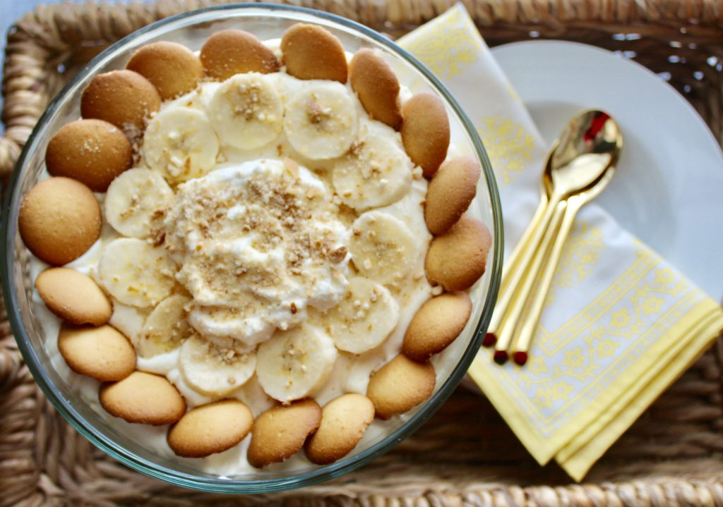 famous banana pudding