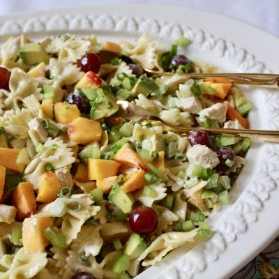 Lemon Tarragon Chicken Pasta Salad