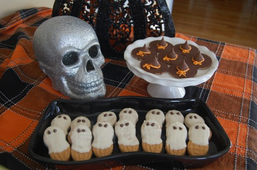 No Bake Halloween Cookies