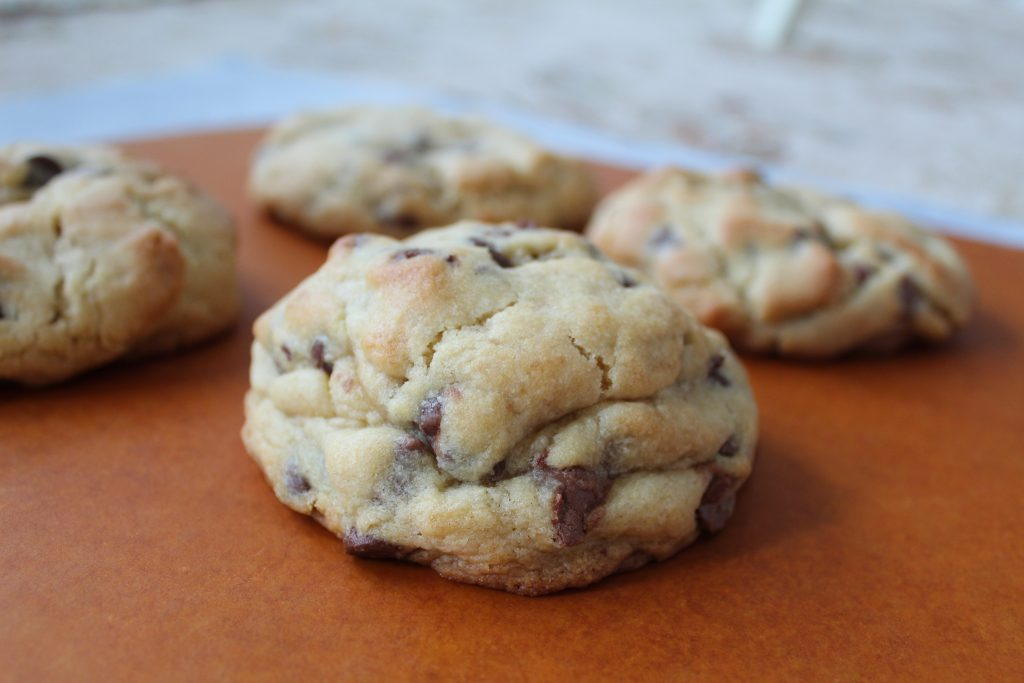 Famous New York Chocolate Chip Cookies