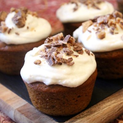 Barefoot Contessa Pumpkin Spice Cupcakes